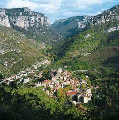 Aveyron valley