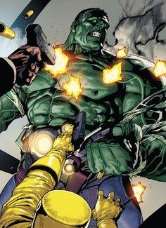 ✭ Indestructible Hulk by Leinil Francis Yu