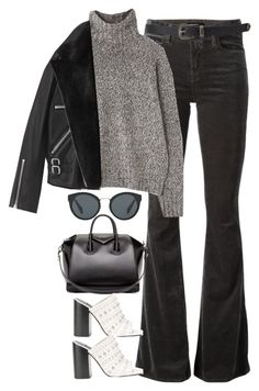 """""""Sin título #1325"""" by osnapitzvic ❤ liked on Polyvore featuring J Brand, Margaret Howell, AllSaints, Prada, Forever 21, Givenchy and Senso"""
