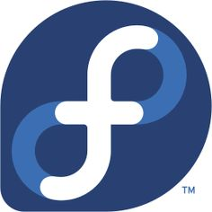 "Fedora logo..observe the ""infinity"" symbol..."