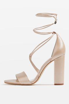 79acafaa38e BEATRIX Block Heel Sandals