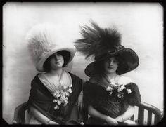 Hats from Edwardian era