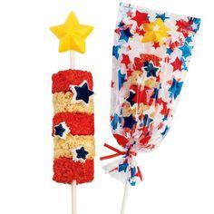 Patriot Pops Cereal Treats