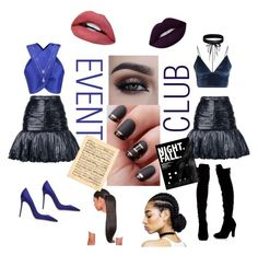 """""""..... FIGURE IT OUT"""" by aesthetic-ese on Polyvore featuring Lolli Couture, Yves Saint Laurent, Carven, Gianvito Rossi and Boohoo"""