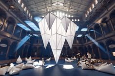 James Corner Field Operations Install Glacier Field at the National Building Museum - Contract Magazine