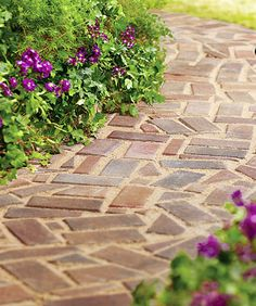 Build it, and they will come-- right up to your front door, if that's where you want them. Just click through for the tutorial for this beautiful brick paver path.