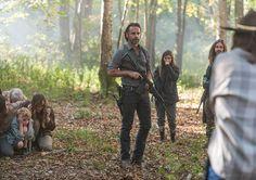 Rick Enid Jesus Carl Oceanside The Walking Dead Season 7 Episode 15