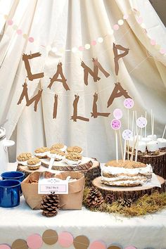 Camp-Themed Birthday Party for Kids | Evermine Occasions | http://www.evermine.com