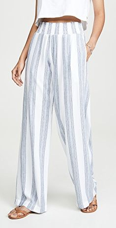 Shop the latest collection of Bella Dahl Smocked Wide Leg Pants from the popular stores - all in one Curly Hair Styles Easy, Hair Romance, Pantalon Large, Petite Women, Wide Leg Pants, Smocking, Casual Dresses, Short Dresses, Summer Outfits