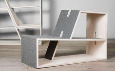 PAULI_Regal und Sitzmöbel – perludi * Produkte – Kindermöbel