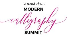 Modern Calligraphy Summit 1.0 Laura Hooper Calligraphy, Learn Calligraphy, Modern Calligraphy, Blog Tips, Learning, Study, Teaching, Studying, Education