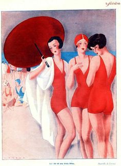 le sourire art deco french mag cover http://www.huffingtonpost.com/sheila-blanchette/more-time-less-things_b_2855193.html