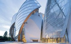 Frank Gehry's contemporary art museum for Louis Vuitton in Paris is an astonishing work of architectural couture.