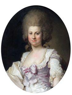 Madeleine Angélique Charlotte de Bréhant, duchesse de Maillé, by Joseph Duplessis (auctioned by Daguerre)