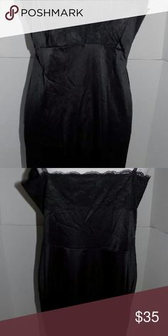 Dixie belle sz 40 vintage black slip usa Beautiful nylon slip. 41 inches long. Like new condition. No flaws. Smoke free home. dixie belle Intimates & Sleepwear Chemises & Slips