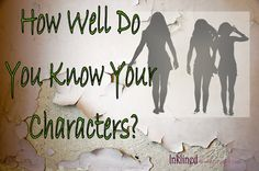 Finally, a REAL analysis into your characters. Knowing what their hair color or favorite food is won't help your writing as much as reading this article will.