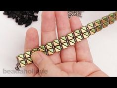 How to Make the City of Carthage Bracelet - YouTube