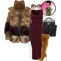 Untitled #2918 by stylebydnicole on Polyvore featuring River Island, Michael Kors, Janessa Leone and Tom Ford