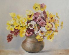 Warm brothers by Danute Virbickiene Flower Art, Still Life, Brother, Bouquet, Warm, Flowers, Painting, Art Floral, Bouquets
