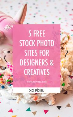 5 Free Stock Photo Websites For Designers & Creatives via xopixel.com