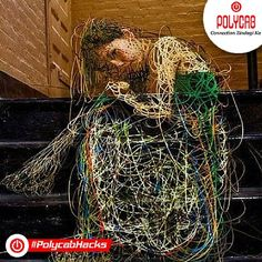 @polycab never imagined that #wires could be used like this also http://goo.gl/kYkbVJ #PolycabHack #Polycab #Wires #Cables