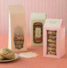 Cookie Towers.... Packaging ideas.                                                                                                                                                     More