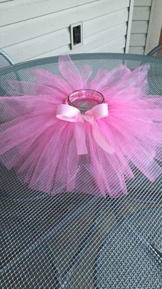 Tutu Mason Jar/ Princess Party/Tutu  party/ by DesignsYouDesire