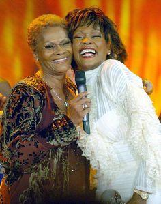 Dionne Warwick with Whitney