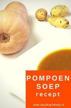 Een heerlijk en makkelijk recept voor een herfstachtige pompoensoep! Soups And Stews, Broccoli, Cantaloupe, Slow Cooker, Food And Drink, Lunch, Bread, Fruit, Curry