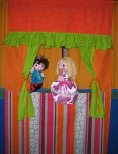 bábparaván ajtóra, puppet theatre doorway