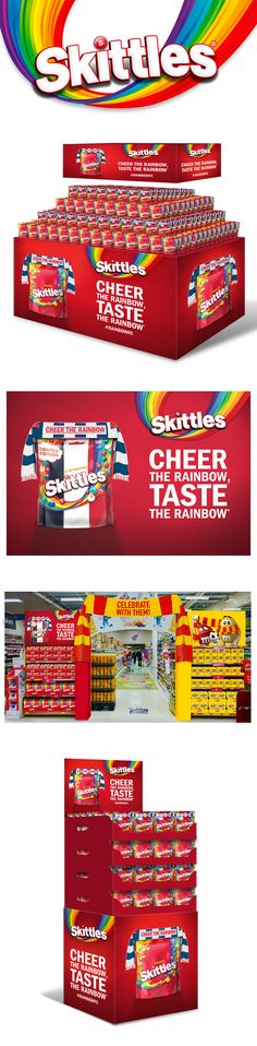 We take a brand first approach. Strong use of distinctive assets create immediate brand recognition with consistent application across materials. Taste The Rainbow, Design Agency, Packaging Design, Strong, Activities, Create, Design Packaging, Package Design
