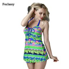 57827ac3a5 ... Vintage Two Piece Swimsuit Tankini Geometric Print Mesh Patchwork  Tankini With Short Sport Bathing Suit. New arrival plus size swimwear  floral flower ...