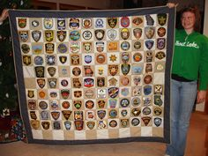 Something to do with all those patches!