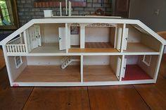 Image detail for -Vintage 1970s Lundby Sweden 2-Story Dollhouse for sale