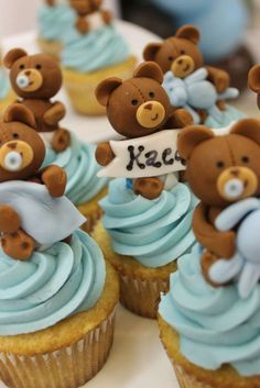 Awesome Vintage Shabby Chic Baby Shower Party Ideas. Teddy Bear ...