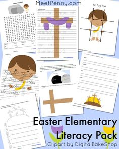 NEW at Meet Penny: Free Christian Easter Literacy Pack