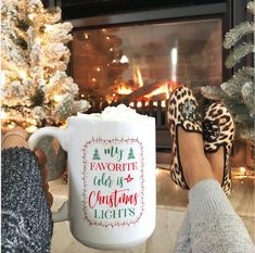 my new Christmas mug. my favorite color is Christmas lights mug Merry Christmas, Cosy Christmas, Christmas Feeling, Outdoor Christmas, Christmas Lights, Christmas Time, Christmas Bedroom, Christmas Ideas, All Things Christmas