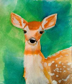 Fawn no 1 Woodland Creatures by ihartyoulots on Etsy, $10.00