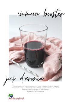 Jus d'aronia BioSuisse 3 l de notre propre culture - Aronia Swiss Vitamin C, Stress, Magnesium, Red Wine, Alcoholic Drinks, Sport, Glass, Immune System, Juice