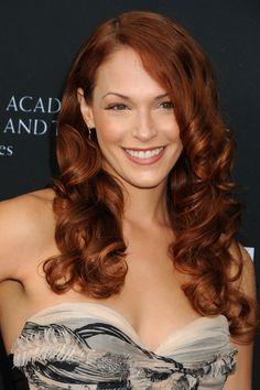 Amanda Righetti  Red curls