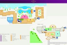Map Layout Playacar Palace
