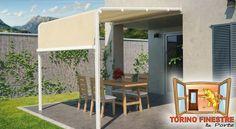 Tende da Sole da Giardino modello Attico Terrazzo, Outdoor Decor, Furniture, Ideas, Design, Home Decor, Decoration Home, Room Decor