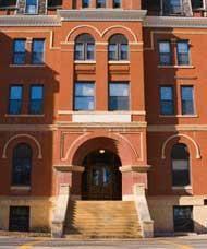 Thorpe Secretarial School on 63rd Street.