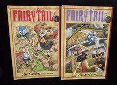 Fairy Tail 1 and 2 Hiro Mashima Magna