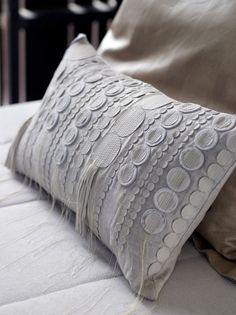 Piet Boon Styling by Karin Meyn | Handmade pillow with unique fabric pattern