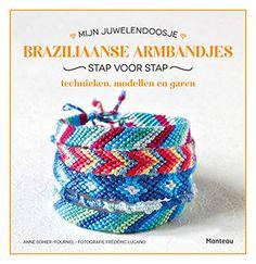 Wil je weten hoe je andere armbandjes dan Loom kunt maken? Kijk dan ook eens naar deze Braziliaanse armbandjes! Kit, Friendship Bracelets, Weaving, Jewelry, Loom, Ideas, Manners, Casket, Free Books