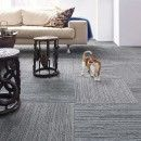 Buy Lacebark-Gunsmoke carpet tile by FLOR