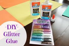 You and kids will both love this! Make DIY Glitter Glue.