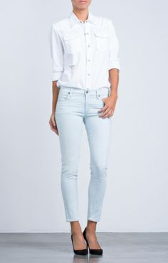 Citizens of Humanity Avedon Skinny Ankle in Serene 218.00