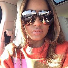 """7c0ca3d1008  porscheframes on Instagram  """"Porsche Design P8478 Sunglasses Gunmetal Frame  with Dark Orange Lenses that have a Silver Flash Mirror  porschedesign ..."""
